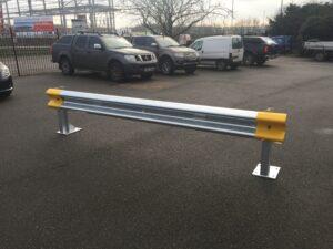Armco Barrier Setup In Car Parking