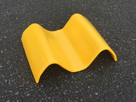 Yellow PVC End Product Photo