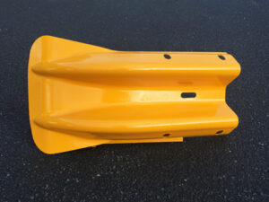 Yellow Fishtail End Product Photo