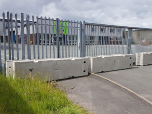 Temporary Vertical Concrete Barrier