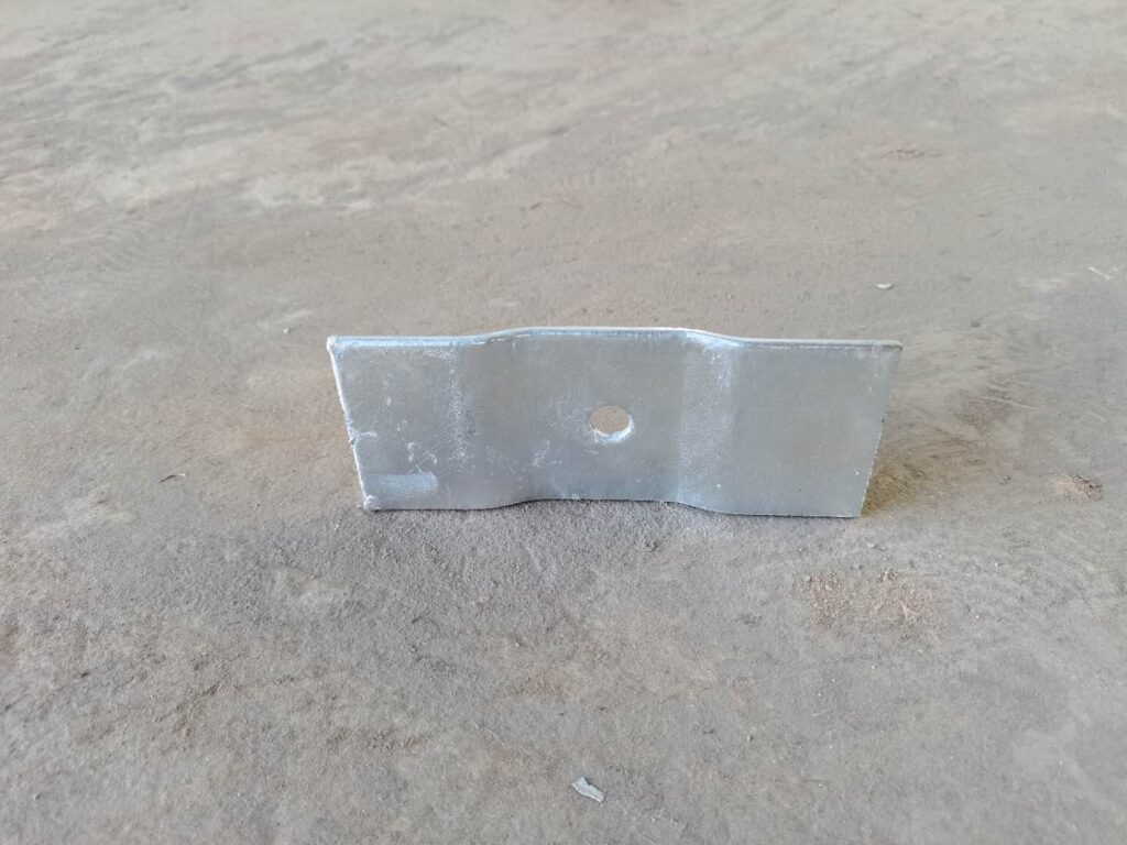 OBB Post Connector plate galvanised